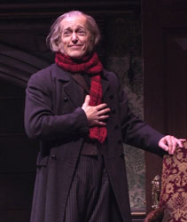 Larry Yando in A Christmas Carol