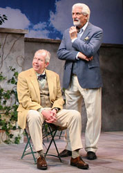 Ron Holgate and Jonathan Hogan in Heroes (© Theresa Squire)