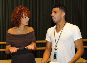 Janet Dacal and Julius Anthony Rubio