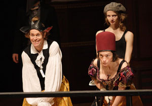 Willem Dafoe, Elina Löwensohn, and Alenka Kraigher
