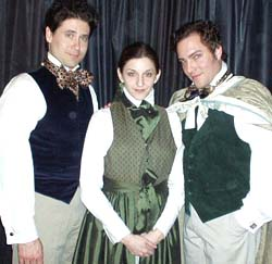 Gay as the Dickens: Igor Goldin, Jamie Heinlein, and Christopher Borg in Penny Penniworth(Photo: Ellen Reilly)