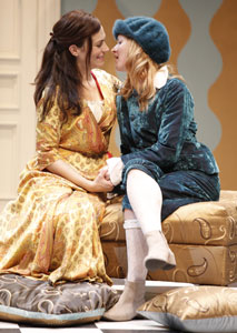 Maggie Siff and Kelly Hutchinson in Or,