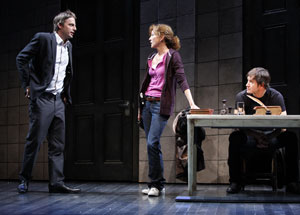 Justin Kirk, Julie White, and Mark-Paul Gosselaar