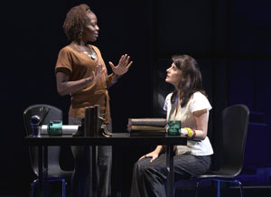 Marsha Stephanie Blake and Mia Barron