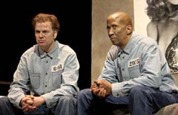 Kevin Anderson and Reg. E. Cathey in The Shawshank Redemption