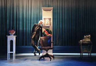 Havergal as Aschenbach in Death in Venice 