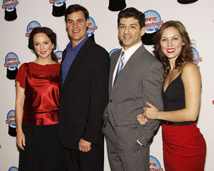 Melissa Errico, James Clow, Tony Yazbeck, and Mara Davi