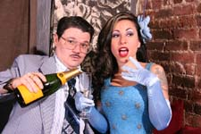 Murray Hill and Angie Pontani
