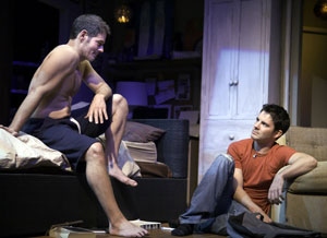 Kevin Spirtas and Scott Kerns in Loaded