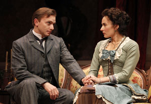 Michael Cerveris and Laura Benanti in In the Next Room