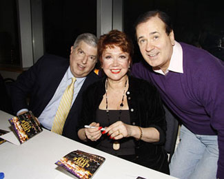 Marvin Hamlisch, Donna McKechnie and Lee Roy Reams