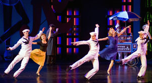 Brian Shepard, Jennifer Cody, Tyler Hanes, Kelly Sullivan,