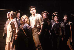 The cast of Urinetown