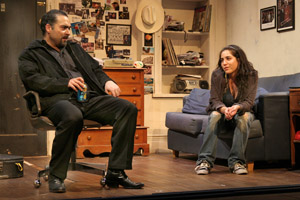 Teddy Canez and Audrey Esparza in Post No Bills