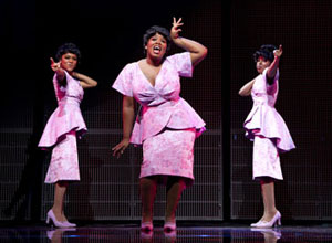 Syesha Mercado, Moya Angela, and Adrienne Warren