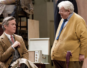 Alex Jennings and Richard Griffiths