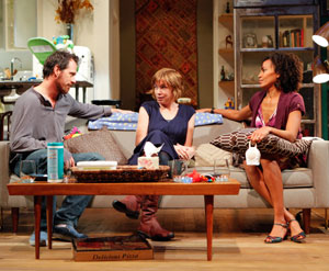 Darren Pettie, Julianne Nicholson, and Eisa Davis in This