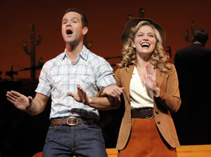 Chris Diamantopoulos and Becki Newton in Girl Crazy
