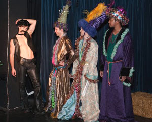 Ben Jones, Dorian McGhee, James Stewart, and