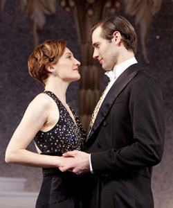 Francesca Faridany and John Behlmann