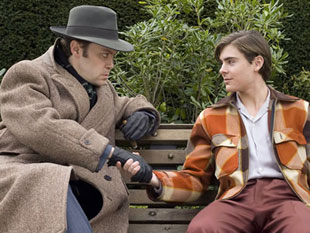 Christian McKay and Zac Efron in Me and Orson Welles