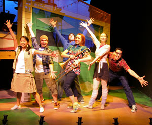The 2008 cast of Dear Edwina