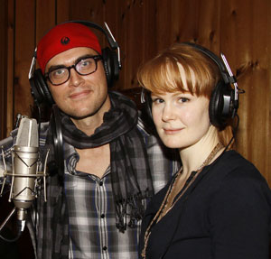 Cheyenne Jackson and Kate Baldwin