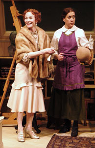 Tracy Shayne and Cheryl Orsini