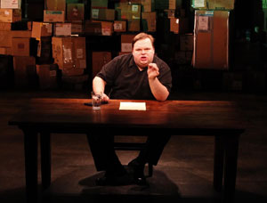 Mike Daisey in The Last Cargo Cult (© Joan Marcus)
