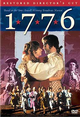 1776 declares its independence from VHS:The film of the musical is now available on DVD