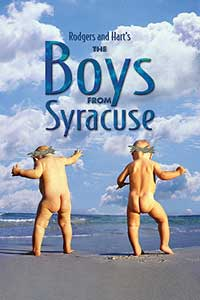 Promotional art for the Roundaboutproduction of The Boys From Syracuse