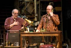 Francis Guinan and Tracy Letts in 