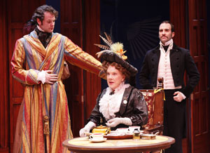 Ian Holcomb, Beth Fowler, and Brad Bradley