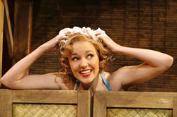 Laura Osnes in South Pacific