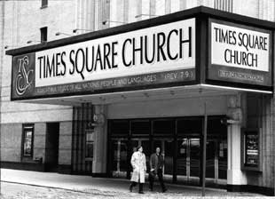 The Times Square Church, formerly the Mark Hellinger Theatre,where The Sound of Music played duringpart of its original Broadway run