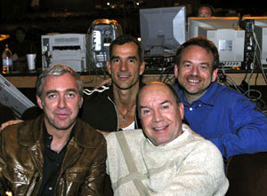 The Hairspray creators (l-r):Scott Wittman, Jerry Mitchell, Jack O'Brien, and Marc Shaiman(Photo: Paul Kolnik)