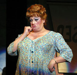 Harvey Fierstein as Edna Turnblad(Photo: Paul Kolnik)