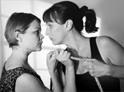 Monique Vukovic and Joyce Storey in Caged(Photo: Irene Young)