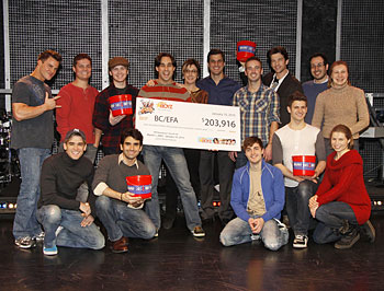 The Altar Boyz check presentation