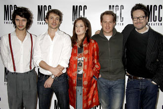 Ben Whishaw, Hugh Dancy, Andrea Riseborough, Adam James and Alexi Kay Campbell