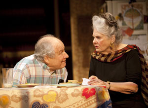 David Margulies and Lois Smith in Lil's 90th