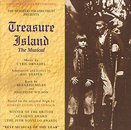 The original cast recording of Treasure Island: The Musical