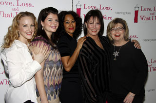 Katie Finneran, Casey Wilson, Tracee Ellis Ross, Michele Lee and Debra Monk