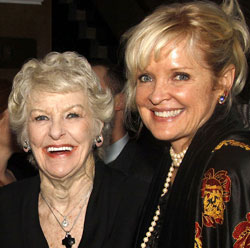 Elaine Stritch and Christine Ebersole