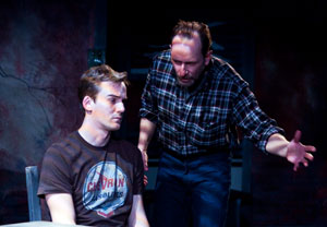 Evan Enderle and Scott Sowers in Princes of Waco