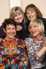 Clockwise from left:  Ivonne Coll,