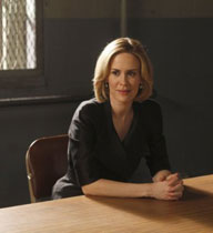 Sarah Paulson on law and order