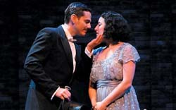 Paul Anthony Stewart and Sara Shepard