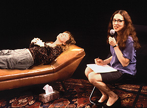 Lisa Levy plays doctor in Psychotherapy Live!