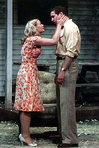 Melinda Page Hamilton and Brian Hutchisonin All My Sons